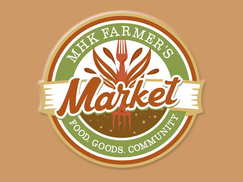 Farmer's Market marketing for hire branding logo farmer
