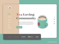 Tea Lovers Website