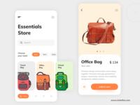 Essentials Store App