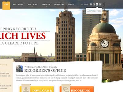 Recorder Office Website