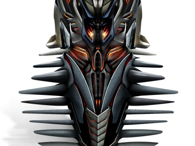 The Fallen Icon transformers icon illustration robots metal