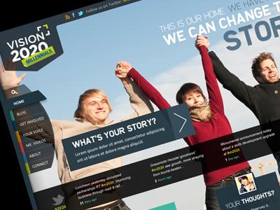 Millennials Project blue business web sky people design marketing indiana vision navigation web site twitter transparent colorful