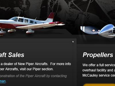 Aircraft Website