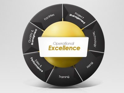 Operational Excellence Wheel