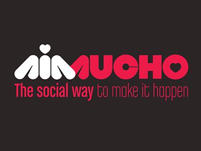 AIMUCHO  logo concept branding aimucho straypeople mark identity logotype