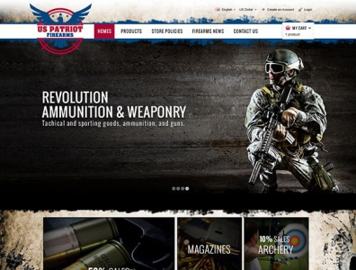 US Patriot Firearms - Logo Design Deck