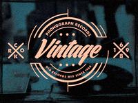 Vinyl Store Label / Poster