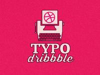 Retro Dribbble Typography