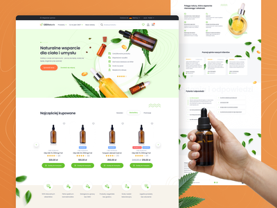 E-commerce platform for CBD supplements store web design elegant pharmacy clean cart shop ecommerce shopping branding natural nature supplements cbd oil cannabis oil cannabinoids cannabis cbd store e-commerce shop e-commerce