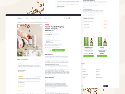 Product page for CBD e-commerce platform product page laboratory science study natural nature supplements pharmacy minimalism minimal clean oil cannabis oil cannabinoids cannabis cbd store shop e-commerce shop ecommerce