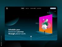 Daily UI 053 - Header Navigation