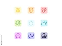 Daily UI 055 - Icon Set