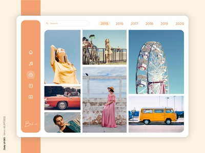 Daily UI 063 - Best of 2015 photography 063 2020 2019 2018 2017 2016 illustration daily daily 100 challenge design webdesigner uxdesign userinterface uiux uidesign dailyuichallenge dailyui