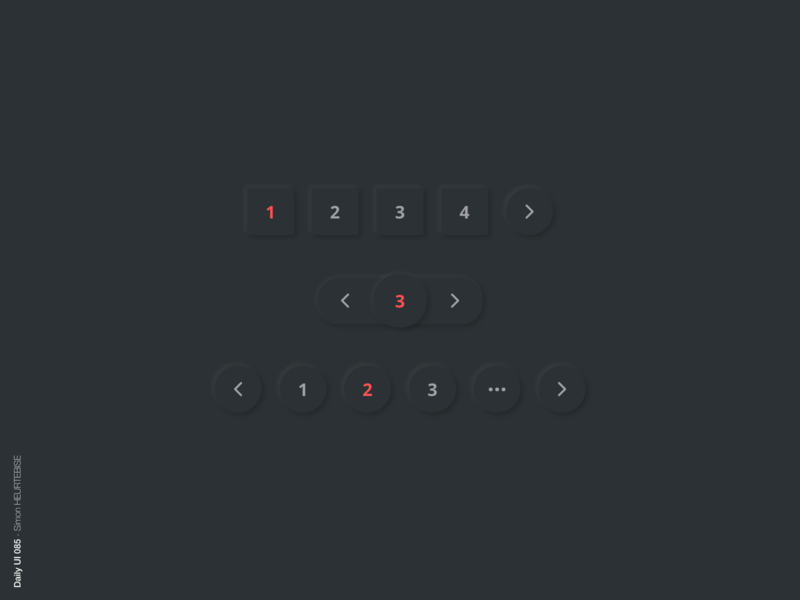 Daily UI 085 - Pagination ui product kit dropdown button dailyui085 085 pagination illustration daily daily 100 challenge design webdesigner uxdesign userinterface uiux uidesign dailyuichallenge dailyui