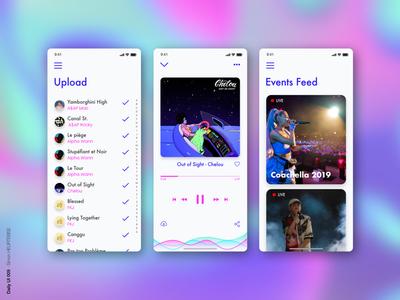 DailyUI 009 - MusicPlayer
