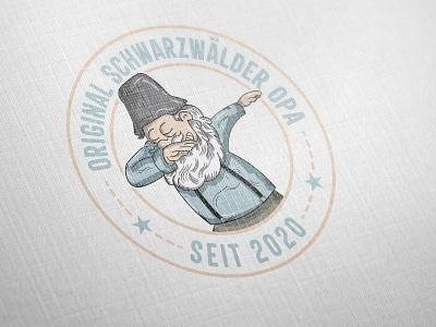 Original Schwarzwalder opa Logo logo design design branding logotype logodesign logo