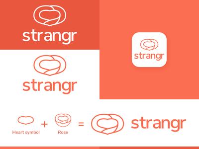 strangr, a dating app concept by Fanuel