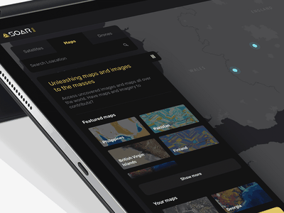 Soar.Earth New Style ux ui editor shop photo menu white black satelite navigate web design map web