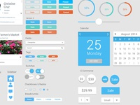 Snapshot of Working UI Kit