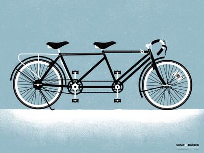 Grain & Mortar Bike Poster