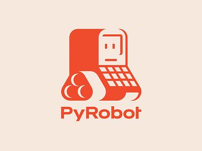 PyRobot Logo Concept opensource ai robots illustration illustrator