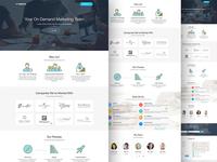 Digital Advertising Agency Website Design