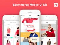 Ecommerce Mobile UI Kit