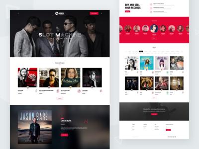Music and Artist Platform