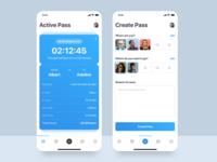 Pass UI Design Concept