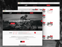 AJP Moto Website Czech