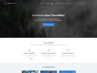 Immovesting webdesign