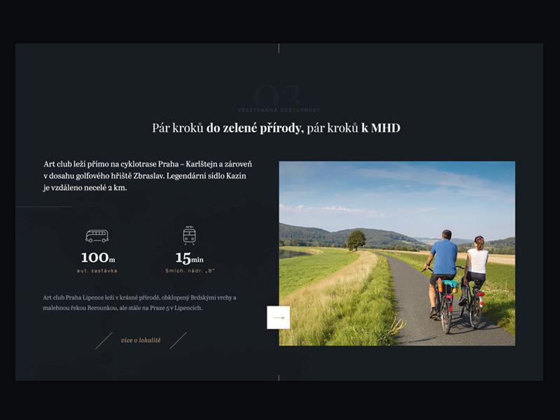 Project Location luxury dark clean clear minimalism design ui ux webdesign