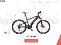 W.I.P. e-bikes webdesign