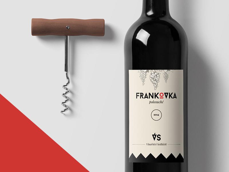 Wine Label redwine clear clean minimalism logodesign logo design label wine