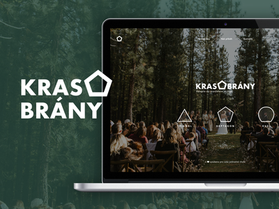 Krasobrany webdesign microsite minisite mobile responsive green uidesign ui ux uxdesign minimalism clean