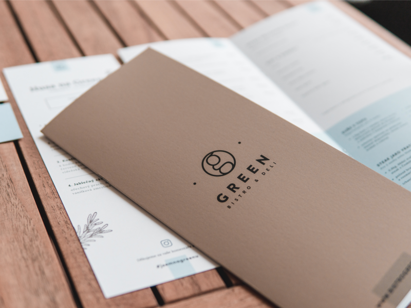 Bistro Green - Visual Identity print branding clean design logo design photos dtp corporate identity identity logo