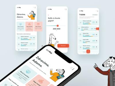Zonky app concept