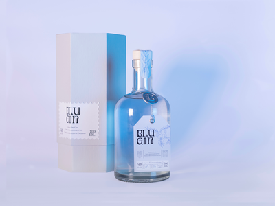 Blu Gin hexagon box