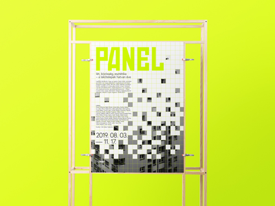 Panel exhibition poster redesign exhibition exhibition design graphicdesign logo design hungary typography grafikfeed