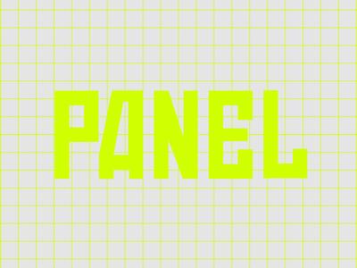 Panel exhibition logotipo redesign exhibition design exhibition logotipo logo graphicdesign hungary typography grafikfeed