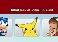 Netflix Just for Kids - Closeup