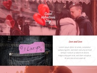 S. Valentine's Day - PSD Project