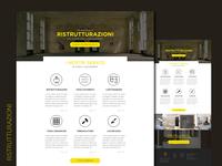 Ristrutturazioni website layout