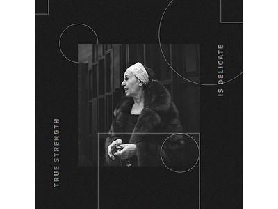 Louise Nevelson Graphic portrait minimalist minimal graphic graphicdesign collage design