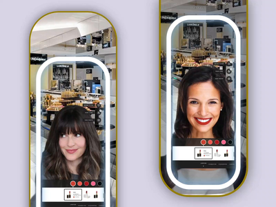 Augmented Reality mirror retail experience