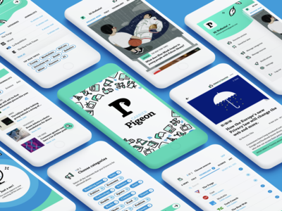 Carrier Pigeon – A news feed app