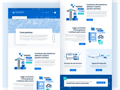 Developers Italia - Descriptive page