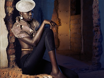 African Fashion africa fashion photography retouching editorial warm cool contrast lighting light