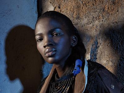 African Queen fashion photography retouching lighting dramatic mood africa african woman women