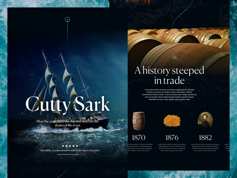 RMG Cutty Sark cutty sark sketch photoshop london greenwich royal museums greenwich naval design museum ship the sea maritime one pager photo manipulation